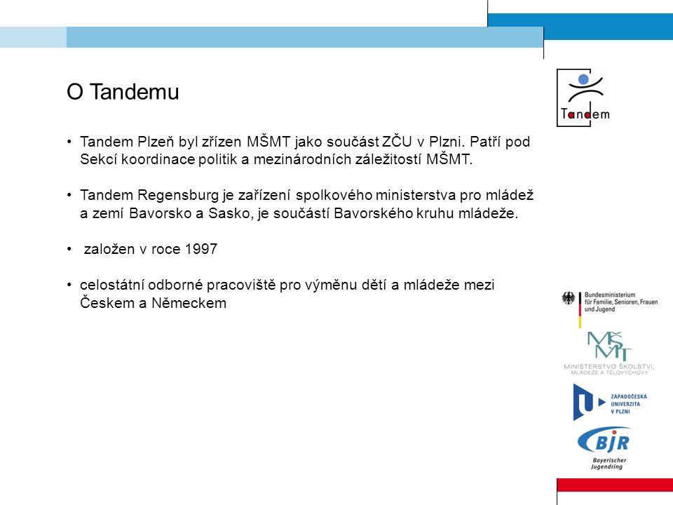 O Tandemu Tandem Plzeň byl zřízen MŠMT jako součást ZČU v Plzni.