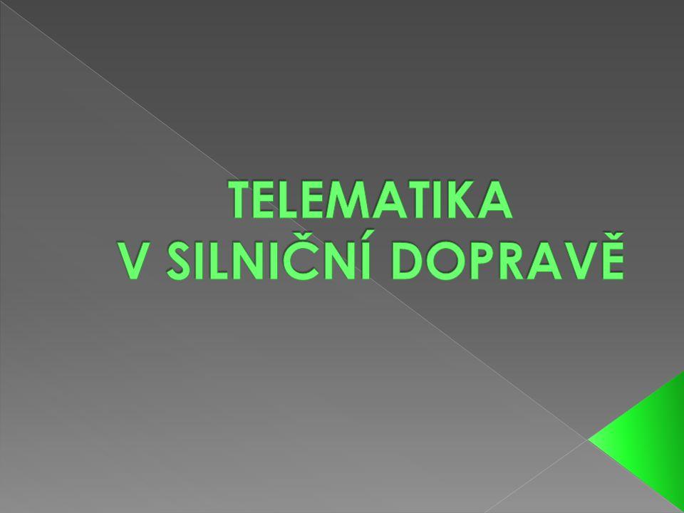 1.TELEMATIKA V OSOBNÍ DOPRAVĚ 2. TELEMATIKA V INDIVIDUÁLNÍ DOPRAVĚ 3.