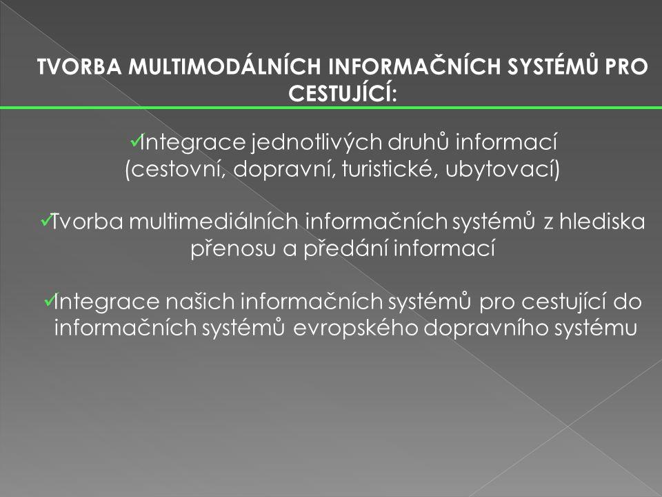 USKUTEČŇUJE SE: 1) rozhlasovým dopravním vysíláním (celostátním regionálním) 2) televizními dopravními zprávami 3) dopravními zprávami v denním tisku a časopisech 4) pomocí online systému V DOPRAVNÍCH VYSÍLÁNÍCH JSOU ÚČASTNÍKŮM DOPRAVNÍHO PROVOZU POSKYTOVÁNY TYTO INFORMACE.