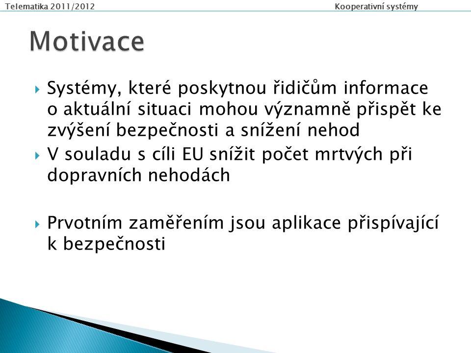 Telematika 2011/2012 Kooperativní systémy  Děkuji Vám za pozornost!