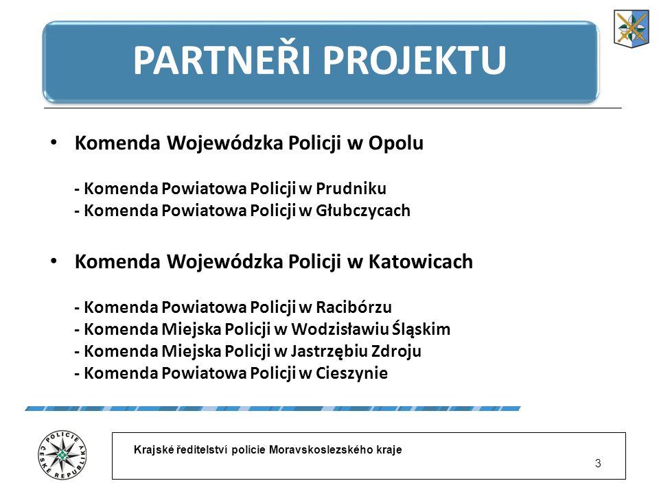 Krajské ředitelství policie Moravskoslezského kraje 14 STANOVIŠTĚ HLÍDEK
