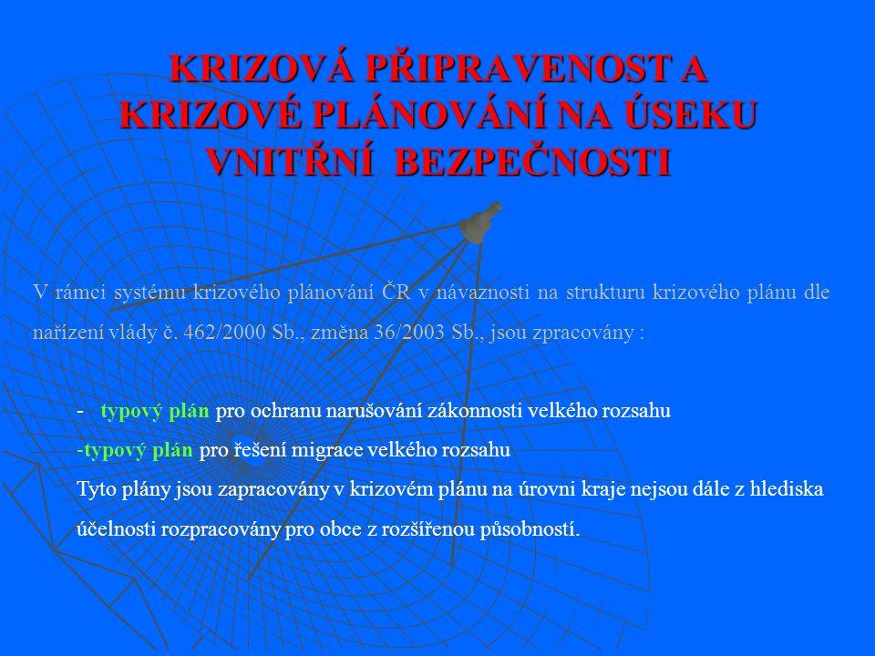 Za provedení příslušného opatření k udržení, zabezpečení či obnovení VPaB zodpovídají jednotlivý vedoucí organizačních článků policie ve svěřených obvodech (Obvodní oddělení PČR Jičín,Hořice a Nová Paka).