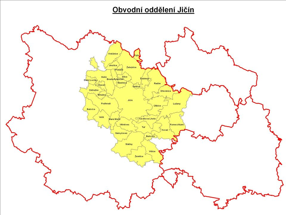 Obvodní oddělení Jičín vedoucí: komisař nadporučík Bc.
