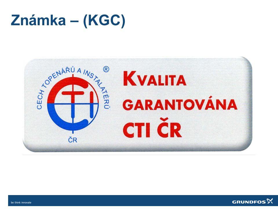 Známka – (KGC)