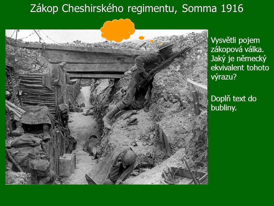 """Cesta do Verdunu K této události se váže heslo """"Neprojdou! Uveď jej do historických souvislostí."""