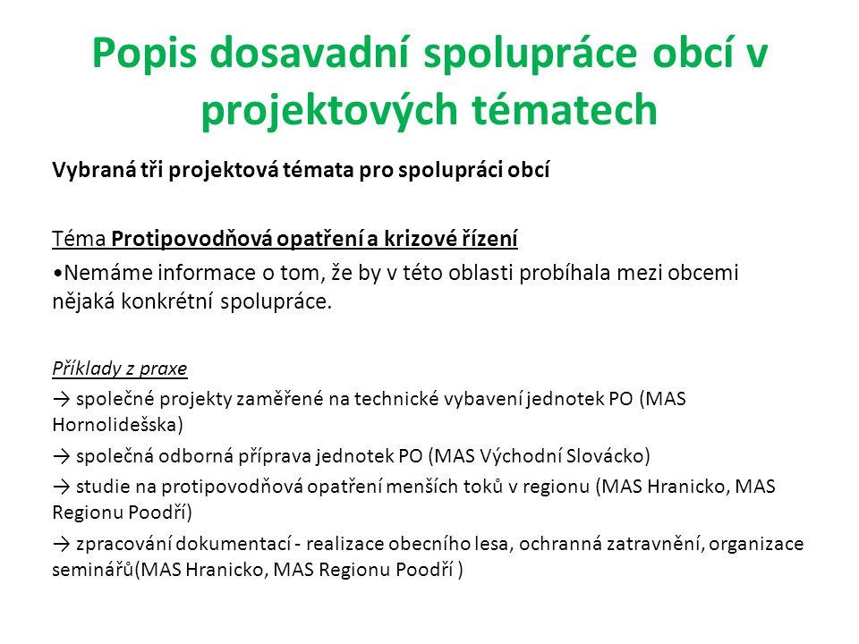 Začlenění Strategie spolupráce obcí do celkové strategie MAS OZJ Samostatně je téma partnerství a spolupráce zahrnuto PO 1: Stabilizace obyvatelstva území SC 1.3: Rozvinutá občanská společnost a smart administration Opatření 1.3.3 Podpora strategického a územního plánování a řízení obcí Opatření 1.3.4 Vytváření prostředí pro spolupráci v rámci území MAS Doplnění strategie MAS Na základě výše uvedených skutečností zjišťujeme, že není potřeba do Strategie MAS doplnit žádné nové opatření, protože stávající opatření zahrnují i aktivity pro rozvoj spolupráce obcí a zefektivnění chodu úřadů v regionu MAS.