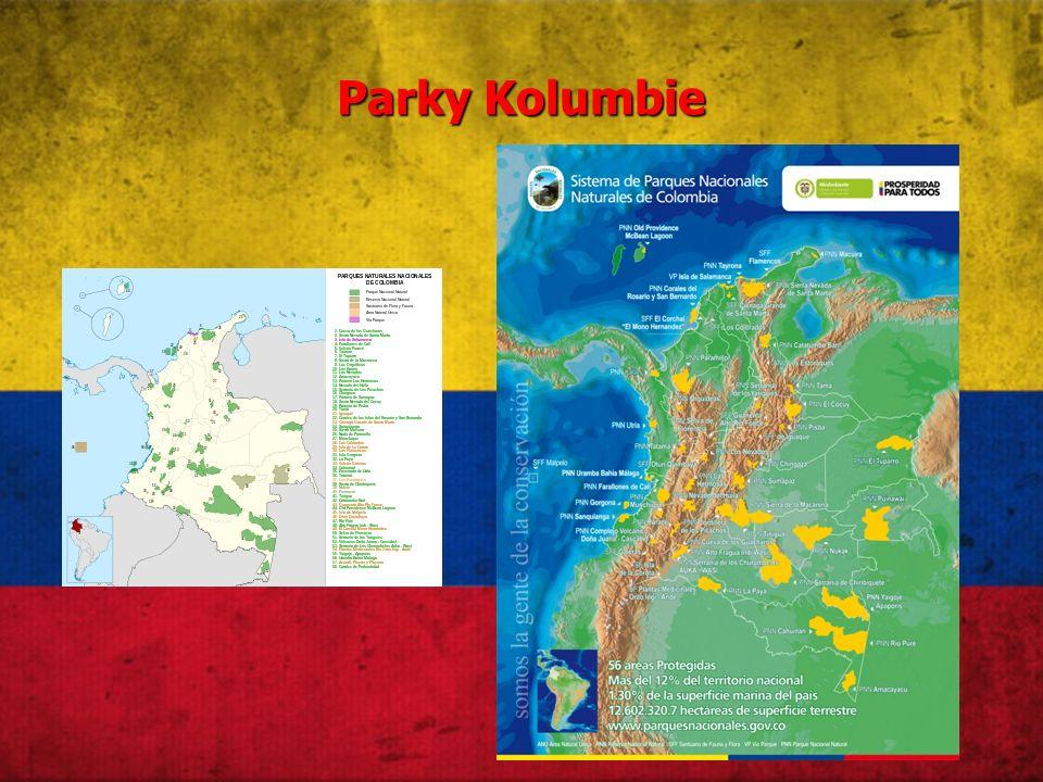 Parky Kolumbie