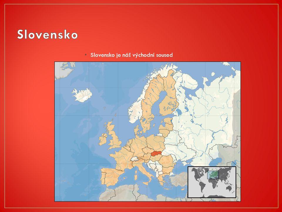 Slovensko je náš východní soused