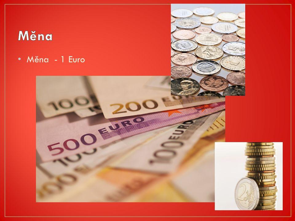 Měna - 1 Euro