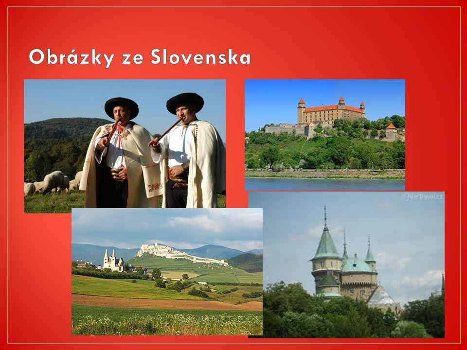 Bratislava Dunaj Euro Hlavním městem Slovenska Největší slovenská řeka Měna na Slovensku