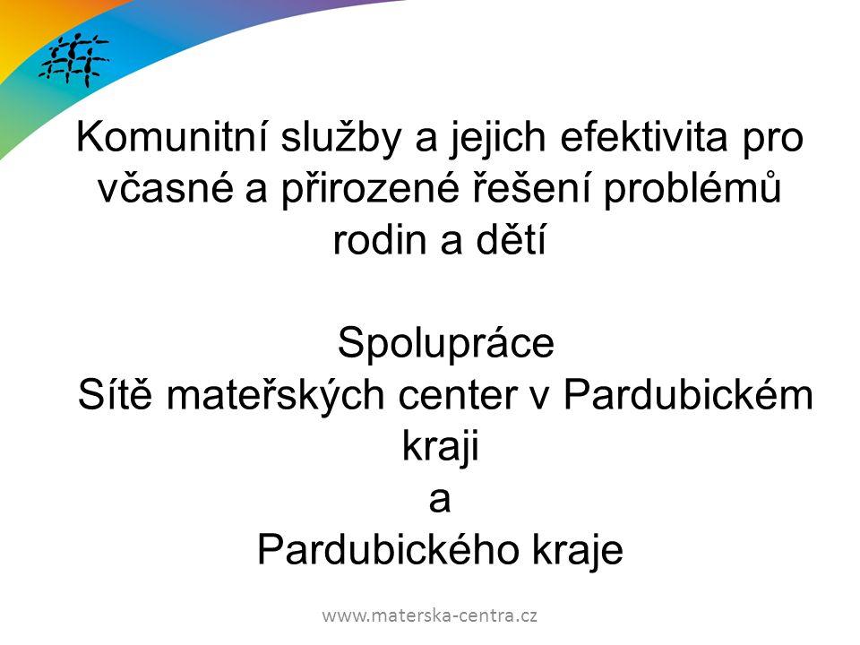 www.materska-centra.cz Pardubický kraj: Ing.Roman Línek - náměstek hejtmana Mgr.