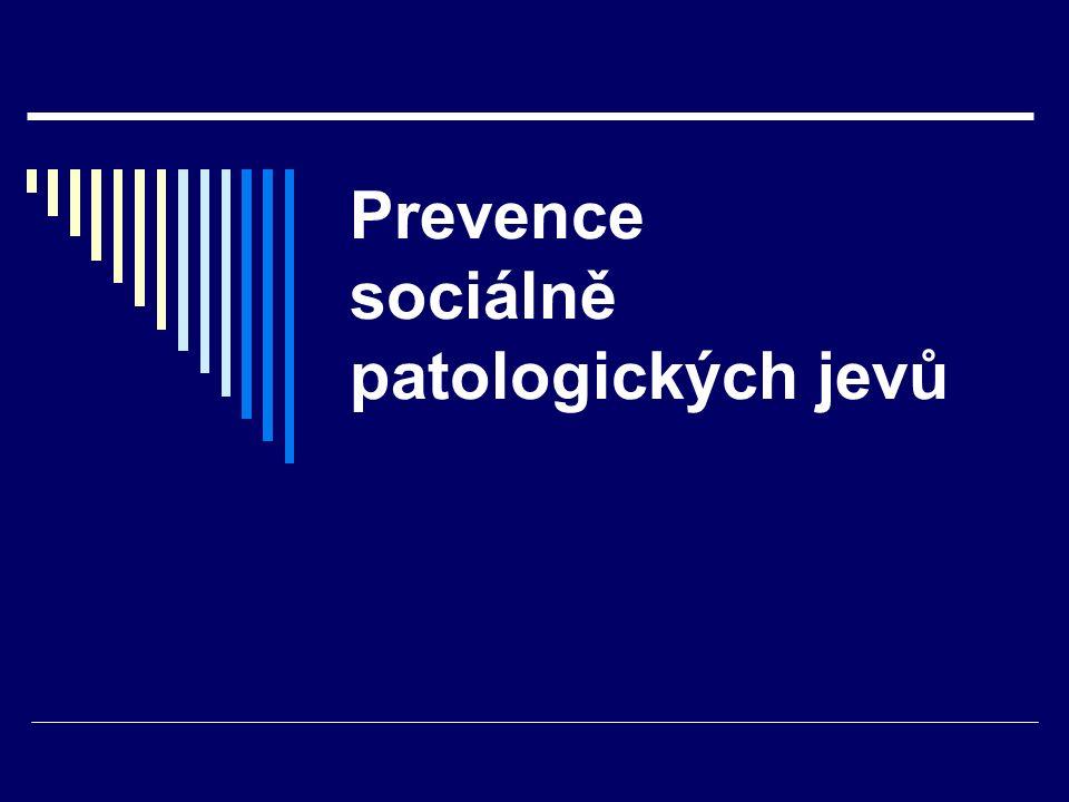 Prevence sociálně patologických jevů