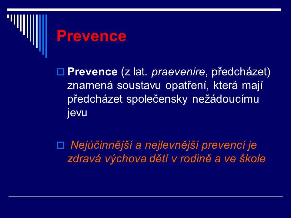 Prevence  Prevence (z lat.