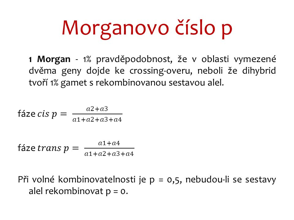 Morganovo číslo p