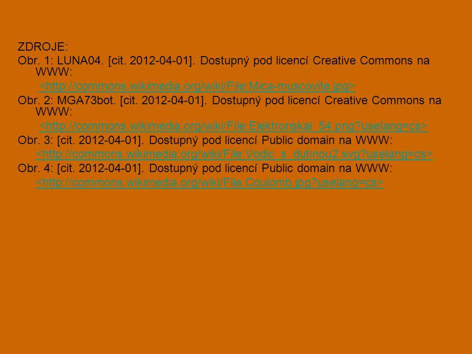 ZDROJE: Obr. 1: LUNA04. [cit. 2012-04-01]. Dostupný pod licencí Creative Commons na WWW: Obr.