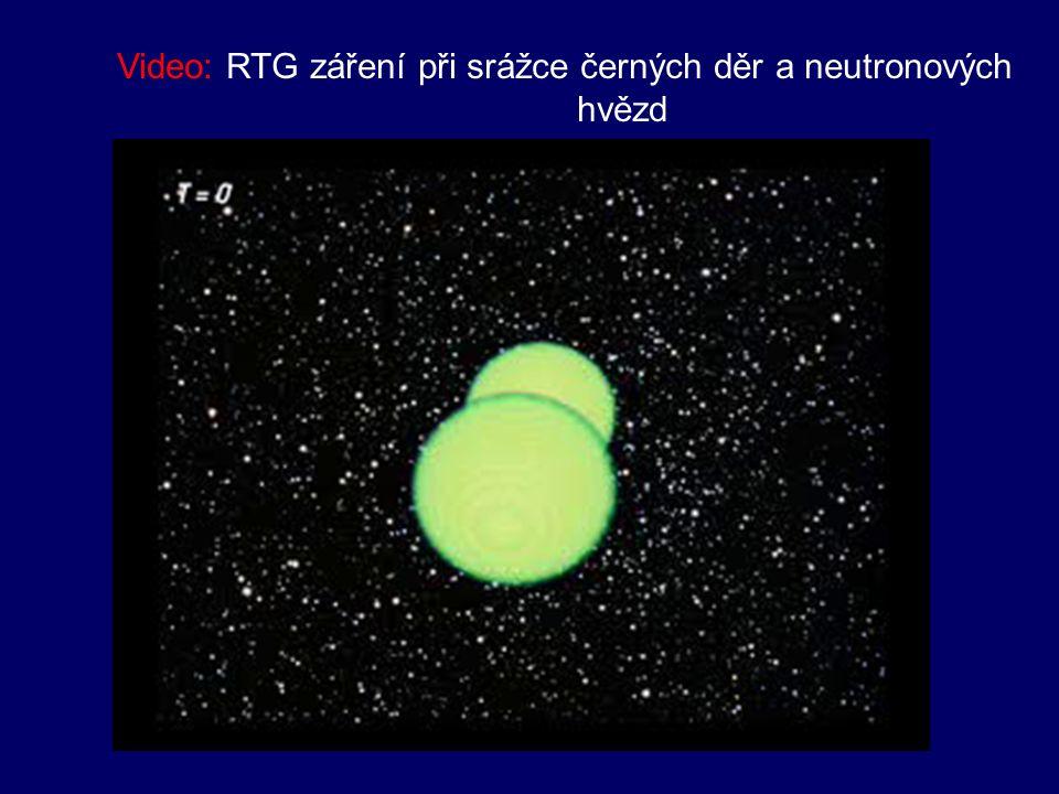 - vlastnosti RTG záření: → ionizuje vzduch → při dopadu na vhodnou látku vyvolá fluorescenci → využívá se v lékařství, rentgenové defektoskopii, astronomii (zbytky supernov, neutronové hvězdy, černé díry) Obr.: Rentgenový zdroj Cygnus X-1 gravitačně vázán s veleobrem HDE 226868 Obr.: pulsar Obr.: Rentgenové zdroje v galaxii M31