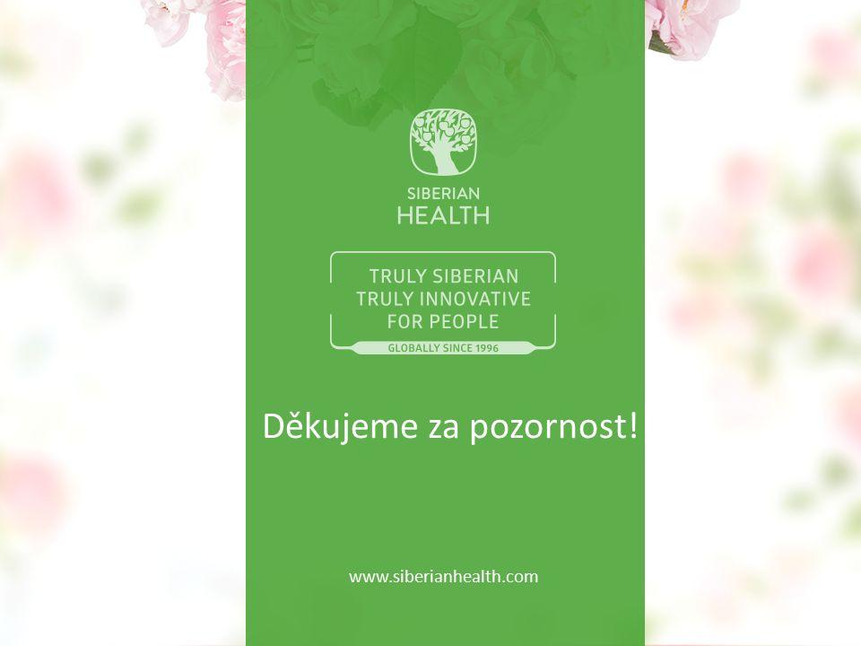Děkujeme za pozornost! www.siberianhealth.com