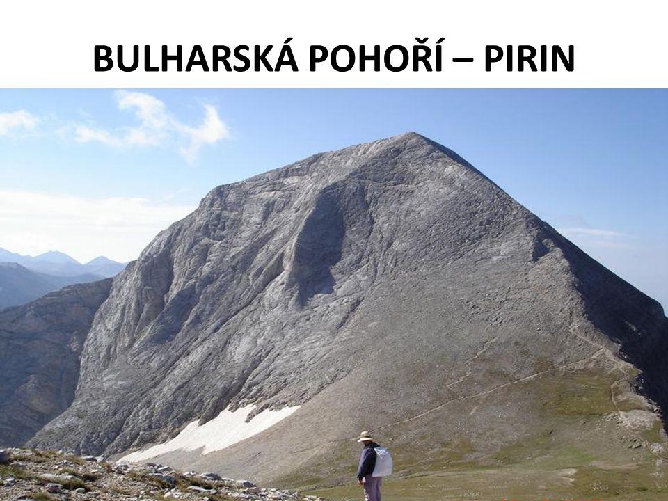 BULHARSKÁ POHOŘÍ – PIRIN