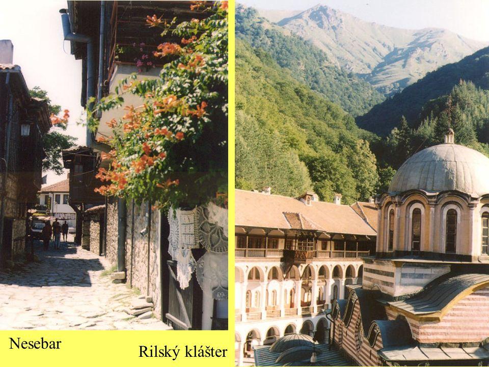 Nesebar Rilský klášter