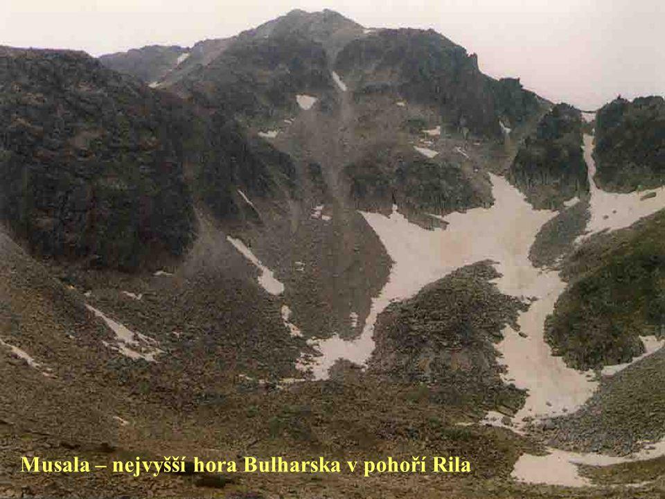 Musala – nejvyšší hora Bulharska v pohoří Rila