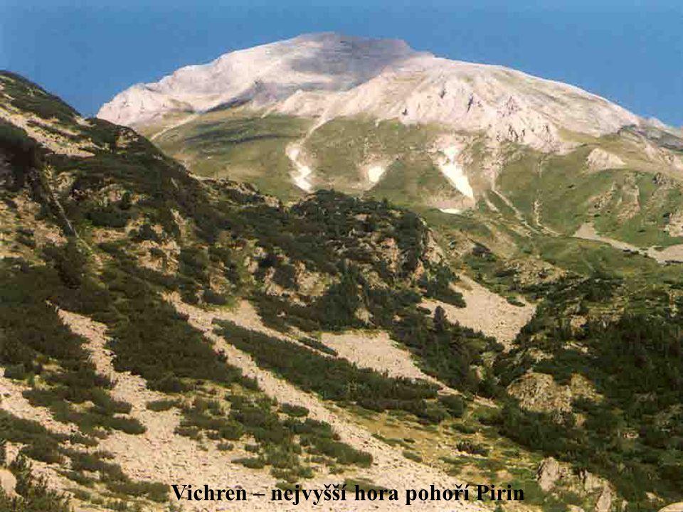 Vichren – nejvyšší hora pohoří Pirin