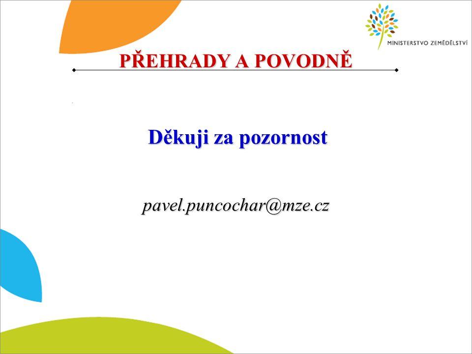 pavel.puncochar@mze.cz Děkuji za pozornost