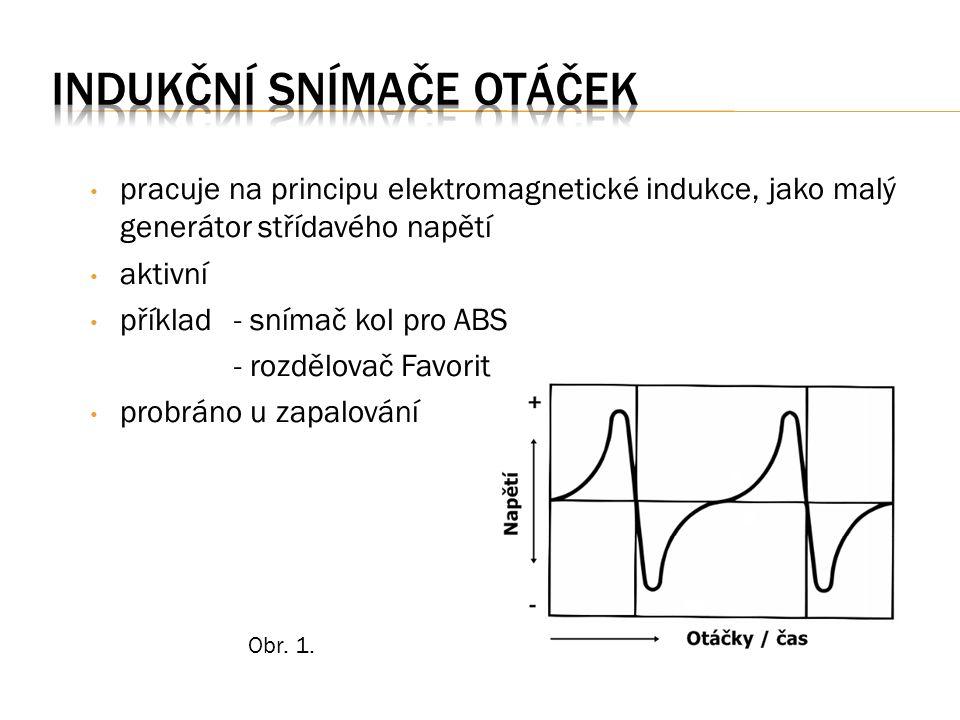 Princip: na tenkou polovodičovou destičku je připojeno napětí.