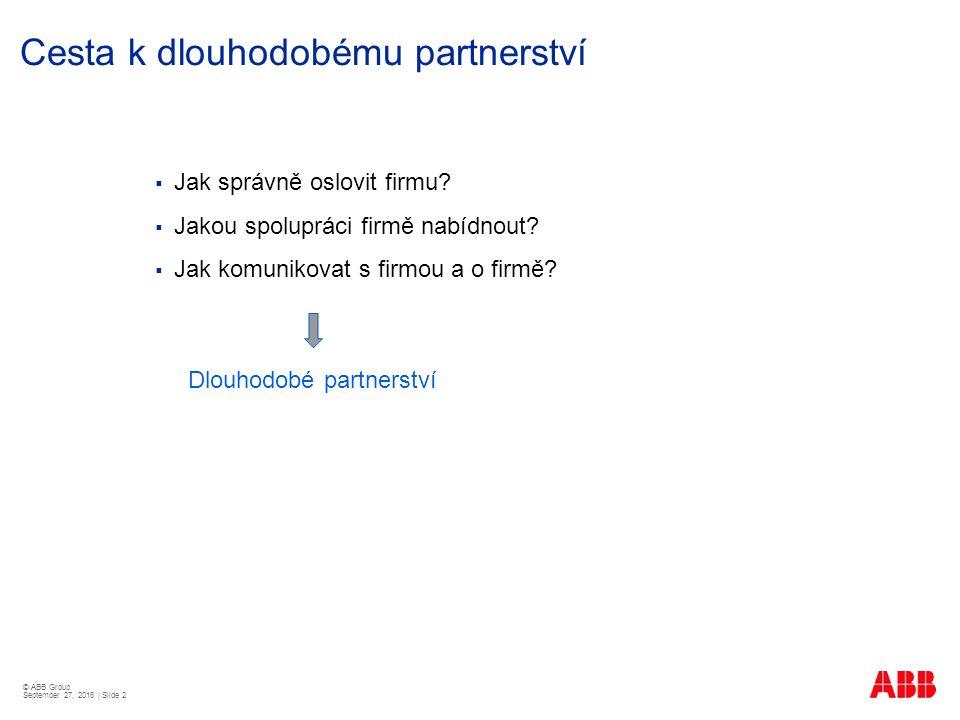 Cesta k dlouhodobému partnerství  Jak správně oslovit firmu.