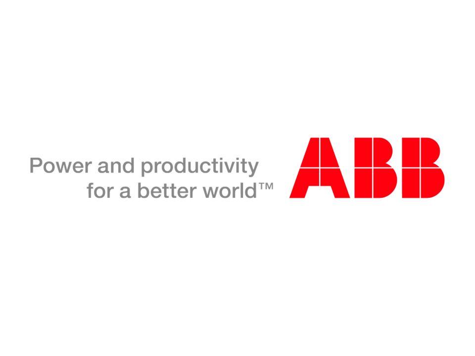 © ABB Group September 27, 2016 | Slide 9