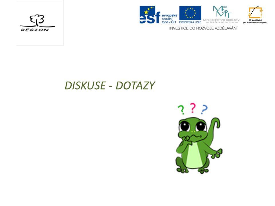 DISKUSE - DOTAZY