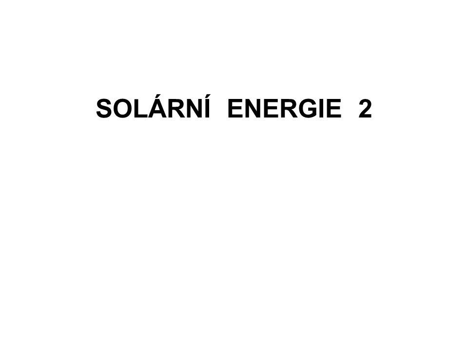 SOLÁRNÍ ENERGIE 2