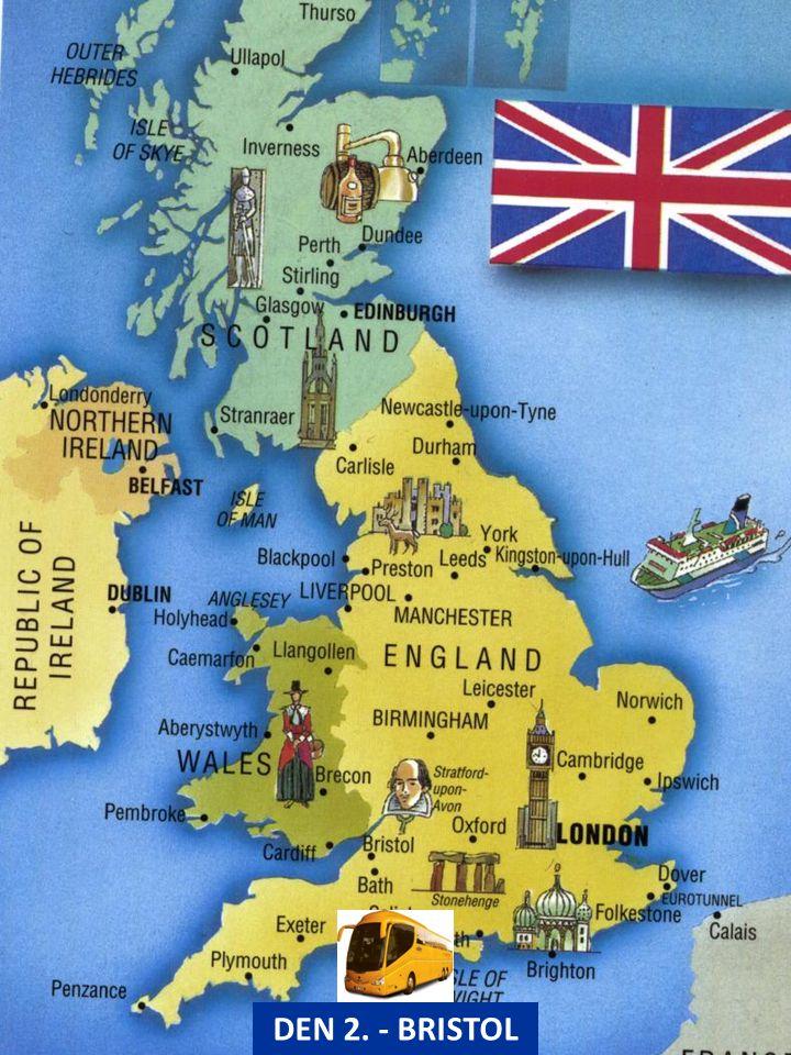 BRISTOL – návštěva parníku SS Great Britain