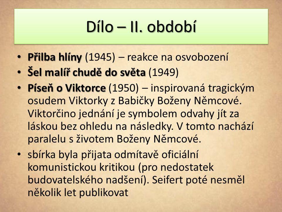 Dílo – II.