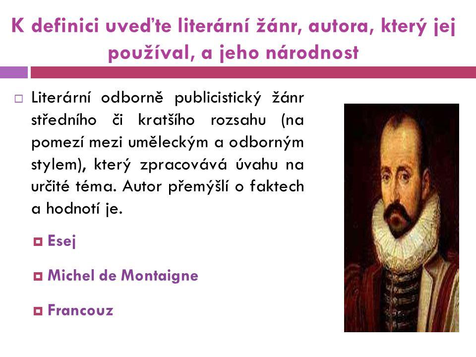 Použité zdroje Literatura 1.Prokop, V. Čítanka k Dějinám literatury od starověku do počátku 19.