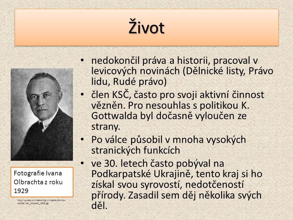 ŽivotŽivot nedokončil práva a historii, pracoval v levicových novinách (Dělnické listy, Právo lidu, Rudé právo) člen KSČ, často pro svoji aktivní činnost vězněn.