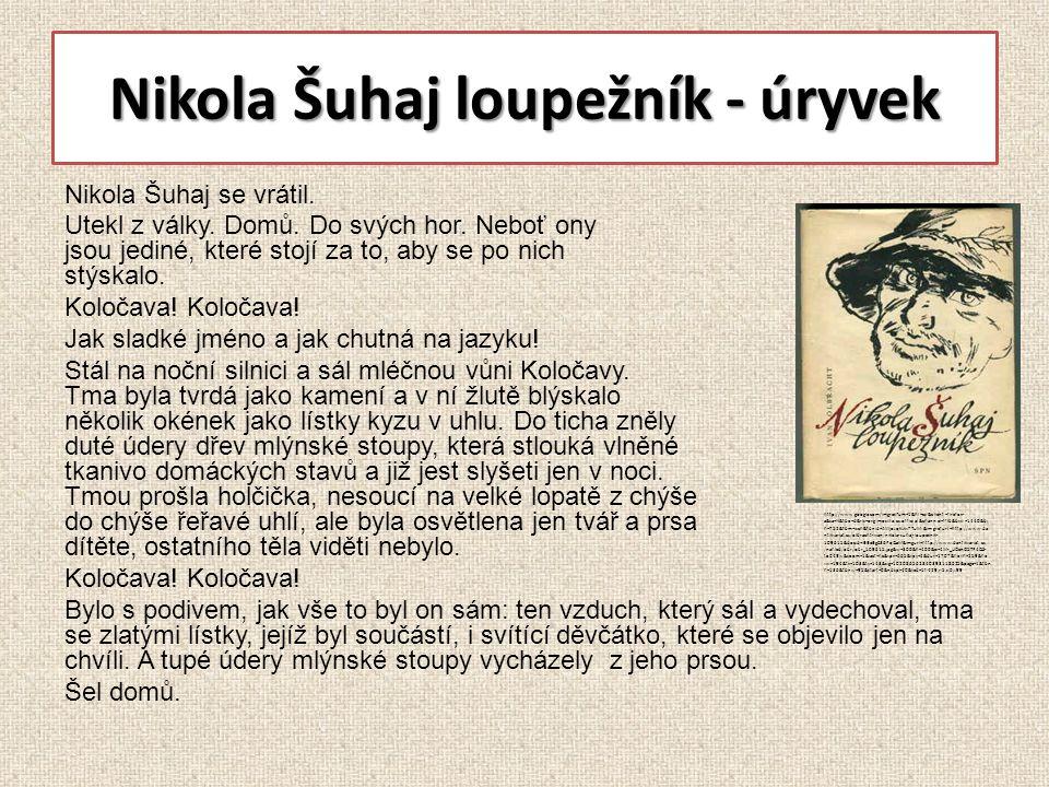 Nikola Šuhaj loupežník - úryvek Nikola Šuhaj se vrátil.