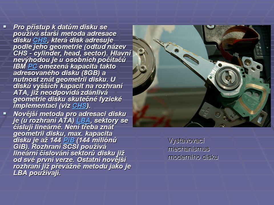 Zacházení  Protože pevné disky obsahují pohyblivé mechanické součásti, jsou náchylnější k poruchám než jiné součásti počítače.