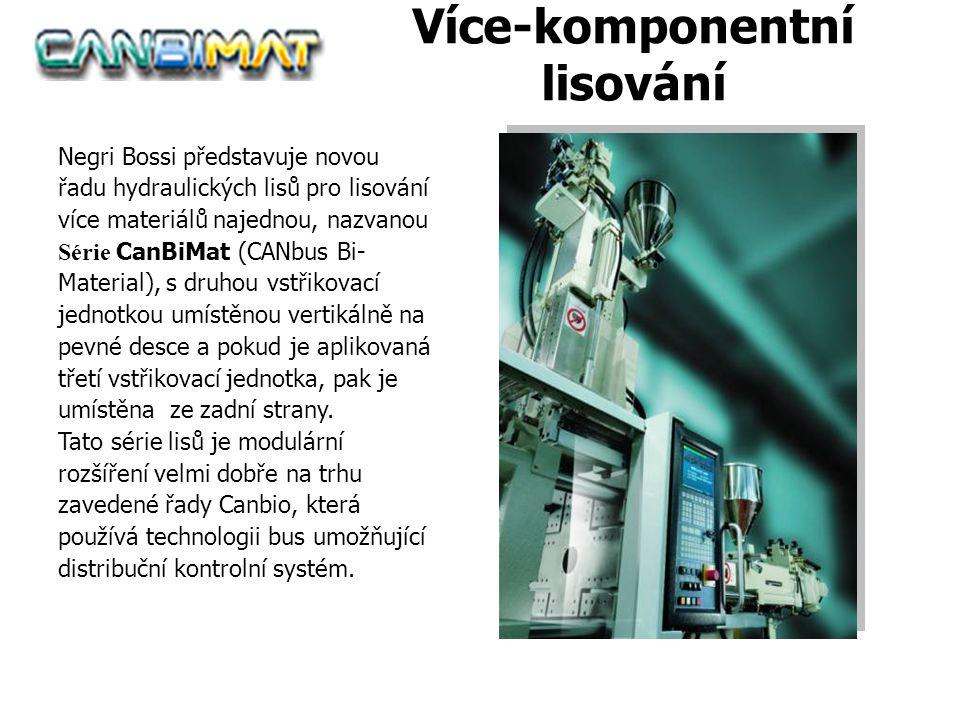 Canbimat Více-komponentní lisování Negri Bossi představuje novou řadu hydraulických lisů pro lisování více materiálů najednou, nazvanou Série CanBiMat