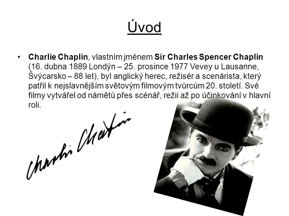 Charlie Chaplin, vlastním jménem Sir Charles Spencer Chaplin (16.
