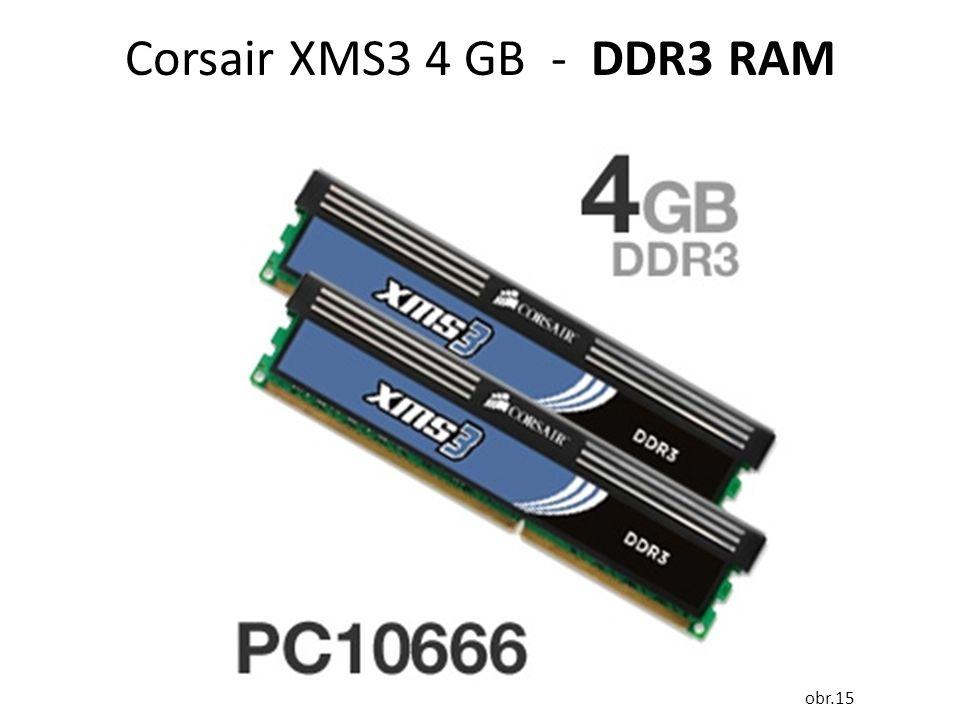 Corsair XMS3 4 GB - DDR3 RAM obr.15