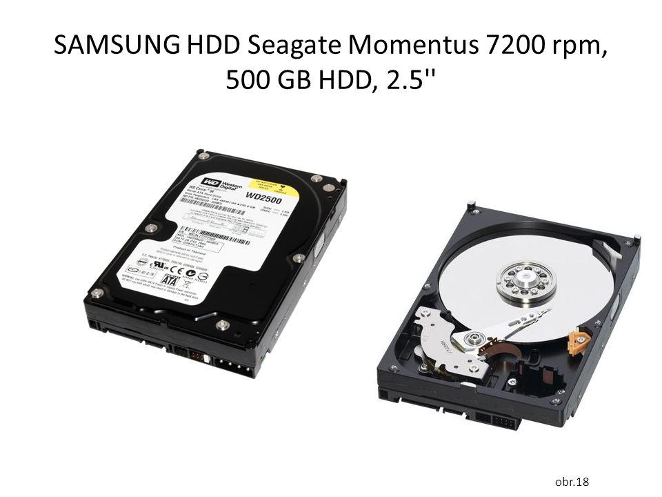 SAMSUNG HDD Seagate Momentus 7200 rpm, 500 GB HDD, 2.5 obr.18