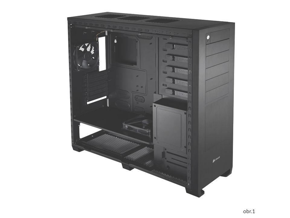 Cv. 2. - Co vidíš ve skříni PC? Jak se nazývají části, díly, součástky uloženy ve skříni?