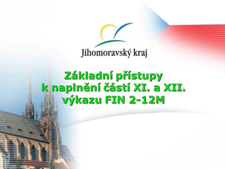 Obsah Tato metodická pomůcka vychází z prezentací Ministerstva financí České republiky, které byly prezentovány na poradě s kraji k dané problematice.