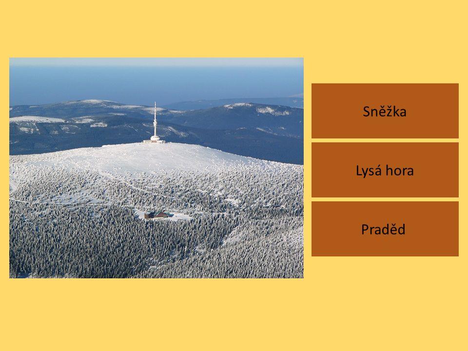 Sněžka Praděd Lysá hora