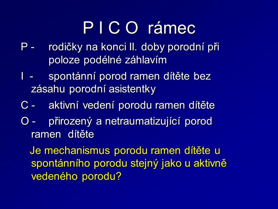 P I C O rámec P -rodičky na konci II.