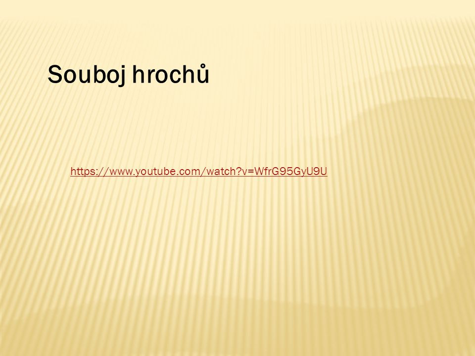 https://www.youtube.com/watch v=WfrG95GyU9U Souboj hrochů