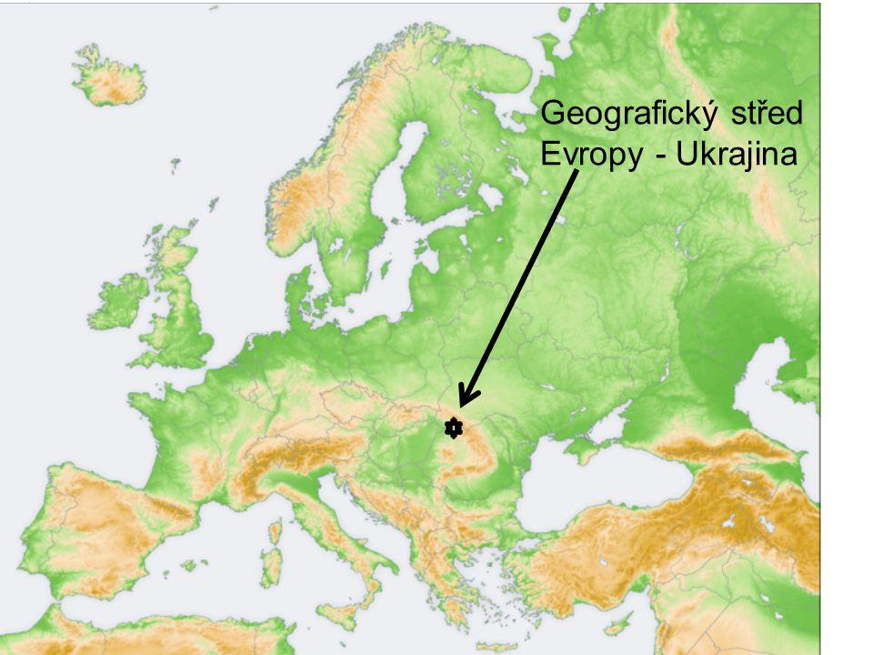 Geografický střed Evropy - Ukrajina