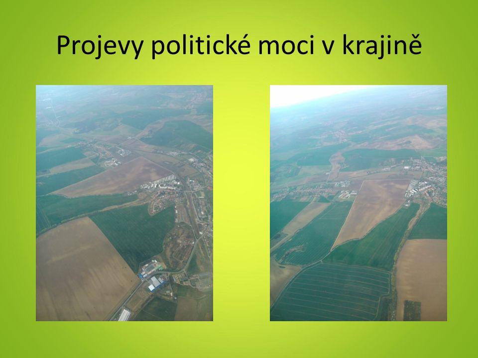 Projevy politické moci v krajině