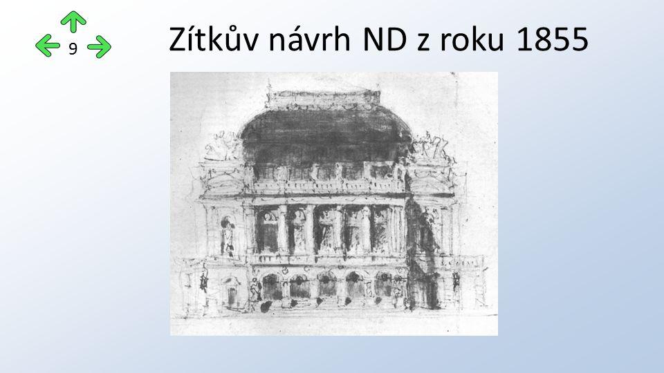 Zítkův návrh ND z roku 1855 9