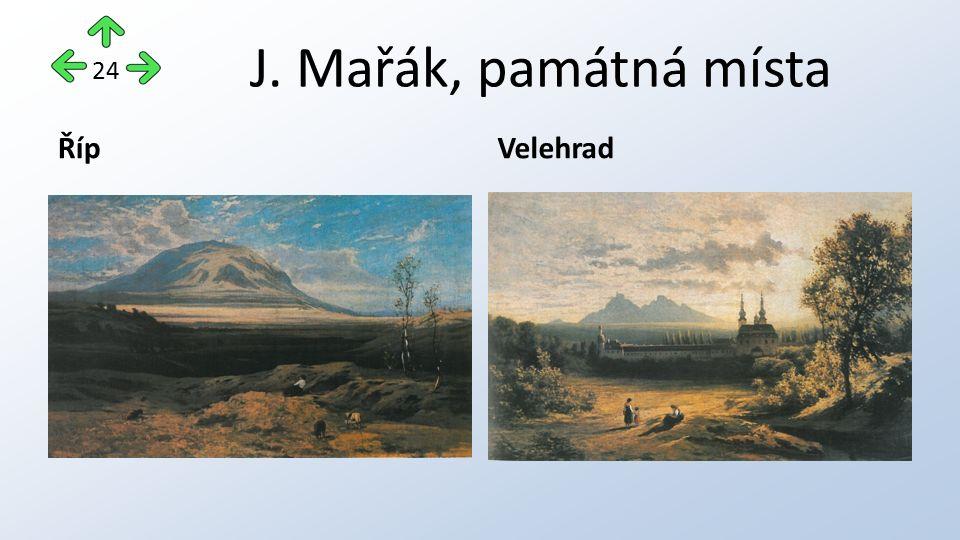 J. Mařák, památná místa ŘípVelehrad 24